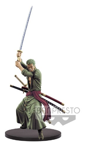 One Piece 8'' Zoro Sword Up Scultures Banpresto Prize Figure