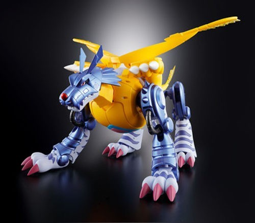 Digimon Metal 6'' Garurumon Digivolving Spirits Bandai Figure