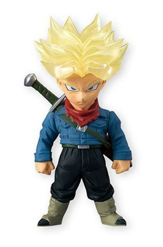 Dragonball Z Super 3'' SS Trunks Adverge 4 Trading Figure