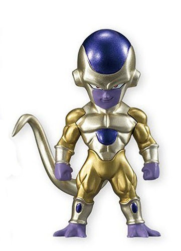 Dragonball Z Super 3'' Golden Frieza Adverge 4 Trading Figure