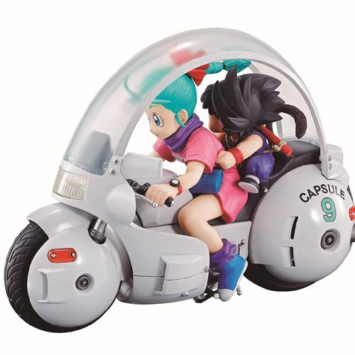 Dragonball Goku and Bulma Desktop Real McCoy Vol. 6 Figure