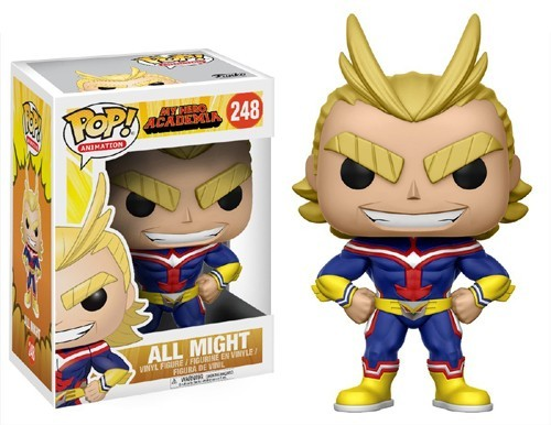 My Hero Academia All Might Funko Pop Figure #248
