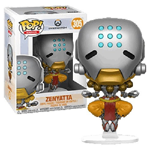 Overwatch Zenyatta Funko Pop Figure #305