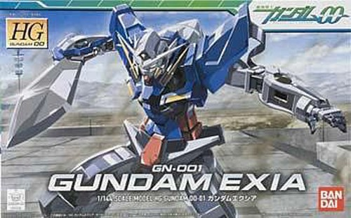 Gundam 00 Gundam Exia HG Model Kit Figure