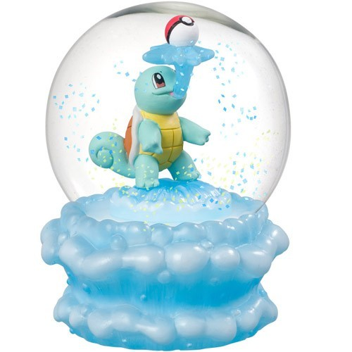 Pokemon 3'' Squirtle Glass Snow Globe Figure