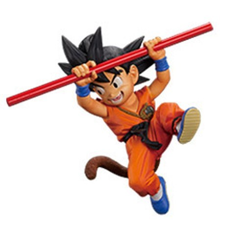 Dragonball Z 4'' Child Goku Fes!! Banpresto Prize Figure
