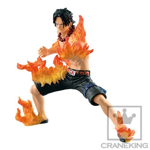 One Piece 6'' Portgas D. Ace Abliators Banpresto Prize Figure