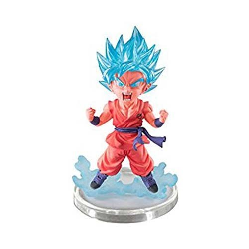 Dragonball Z 3'' SSGSS Goku Red UG Banpresto Gashapon Figure