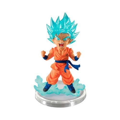 Dragonball Z 3'' SSGSS Goku Orange UG Banpresto Gashapon Figure
