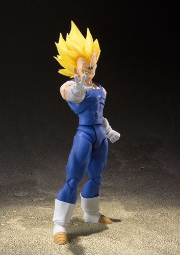 Dragonball Z 6'' Majin Vegeta S.H Figuarts Action Figure