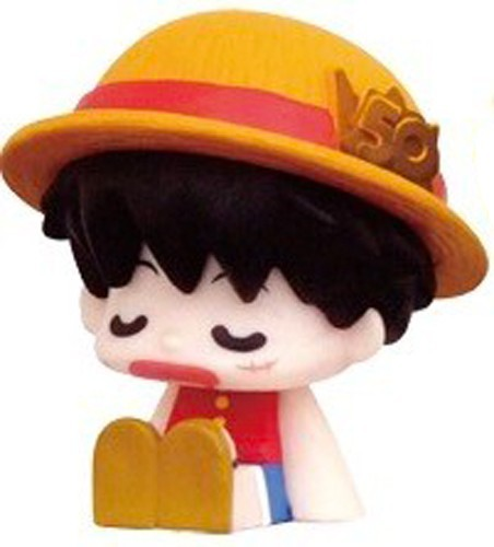One Piece 2'' Luffy Weekly Jump 50th Anniversary Trading Figure