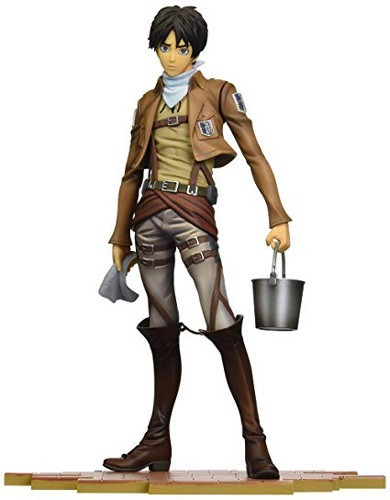 Attack on Titan Cleaning Eren Brave Act 1/8 Scale Figure