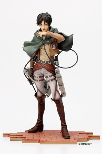 Attack on Titan Eren Jaeger Brave Act 1/8 Scale Figure