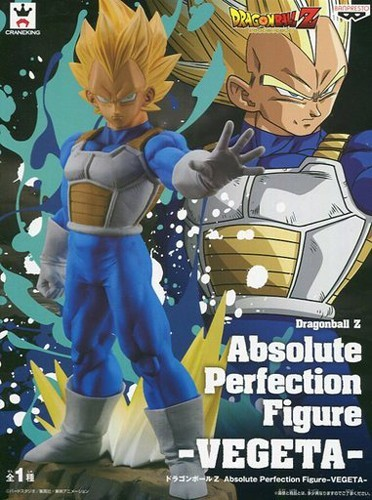 Dragonball Z 8'' SS Vegeta Absolute Perfection Figure Banpresto Prize Figure