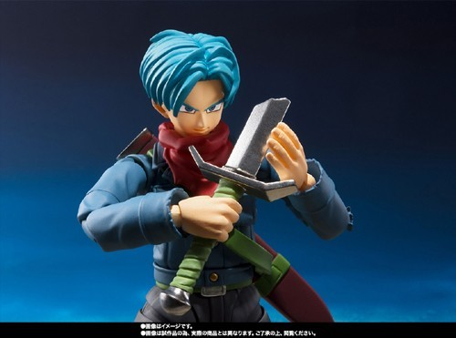 Dragonball Z 6'' Future Trunks Super Ver. S.H Figuarts Action Figure