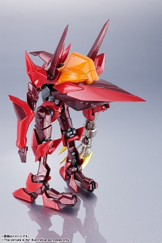 Code Geass 6'' Guren Type-08 Elements (Seiten) Metal Robot Spirits Action Figure