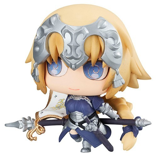 Fate Grand Order 3'' Ruler Jeanne D'Arc Petit Chara Chimimega Vol. 2 Trading Figure