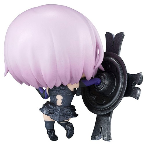 Fate Grand Order 3'' Shielder Mash Mashu Kyrielight Petit Chara Chimimega Vol. 1 Trading Figure