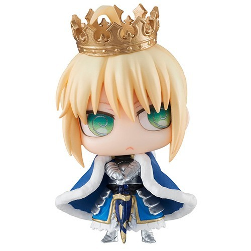 Fate Grand Order 3'' Saber Alteria Pendragon Petit Chara Chimimega Vol. 1 Trading Figure