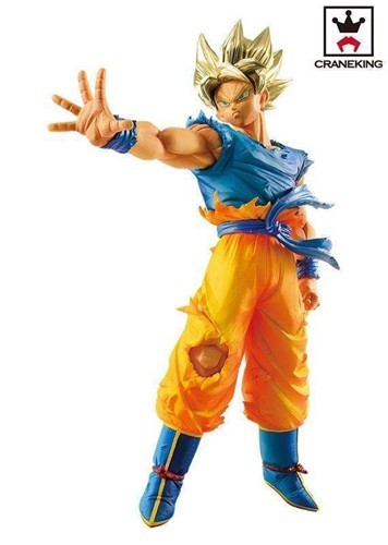 Dragonball Z 6'' SS Goku Blood of Saiyans Special Banpresto Prize Figure