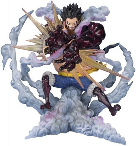 One Piece Monkey D. Luffy Gear 4 Leo Bazooka Figuarts Zero Figure