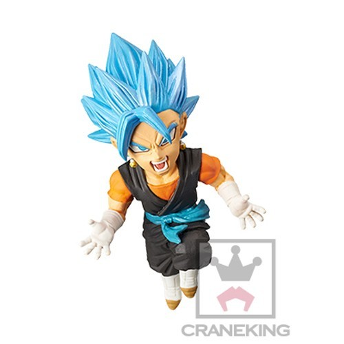 Dragonball Z Super Heroes 3'' SSGSS Vegetto WCF Vol. 4 Trading Figure
