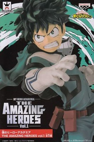 My Hero Academia 8'' Midoria Izuku The Amazing Heroes Banpresto Prize Figure