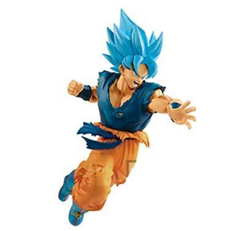 Dragonball Z Super Broly Movie 8'' SSGSS Goku Banpresto Prize Figure