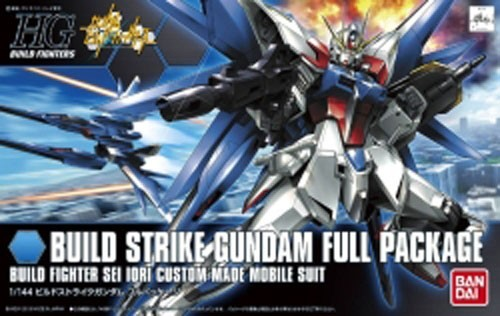 Gundam Build Strike Gundam Full Package Sei Iori Custom Made HG Model Kit Figure