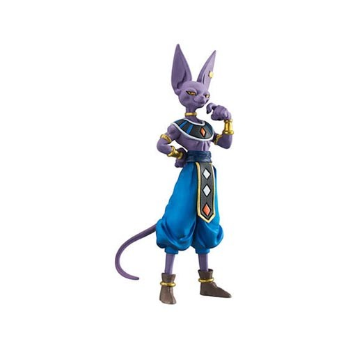 Dragonball Z Super 3'' Beerus HG 02 Gashapon Trading Figure
