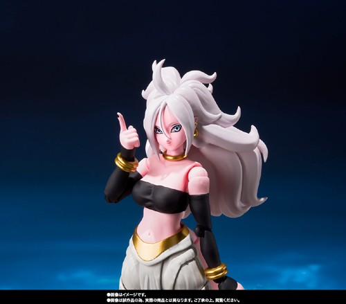 Dragonball Z 6'' Android 21 S.H Figuarts Action Figure