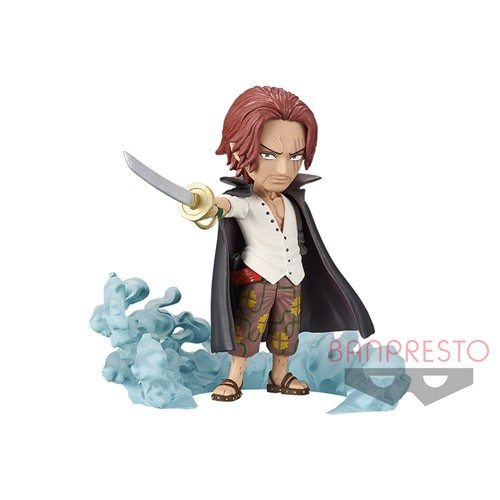 One Piece 3'' Shanks World Collectable Figure Burst Prize Trading Figure