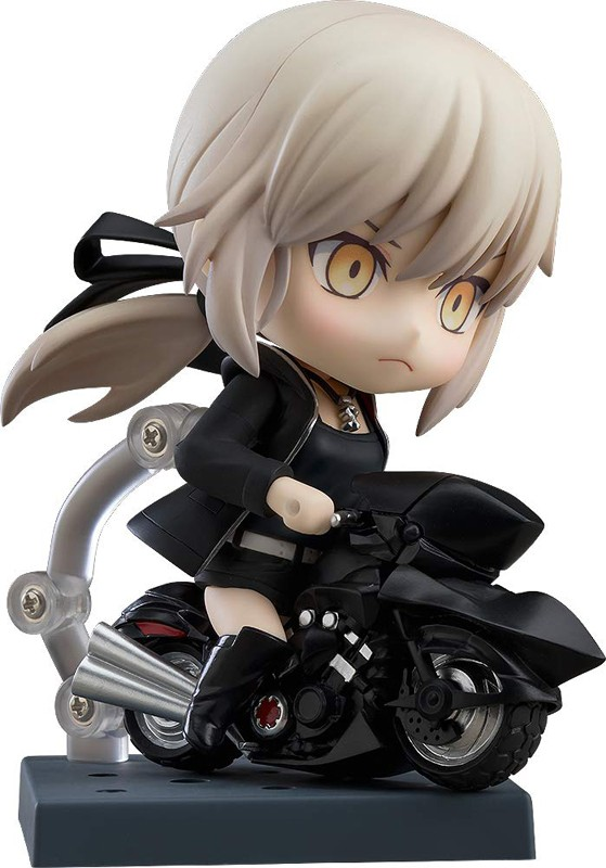 Fate Grand Order Saber Altria Pendragon Alter Shinjuku Ver. And Cuirassier Noir Nendoroid Action Figure #1142-DX