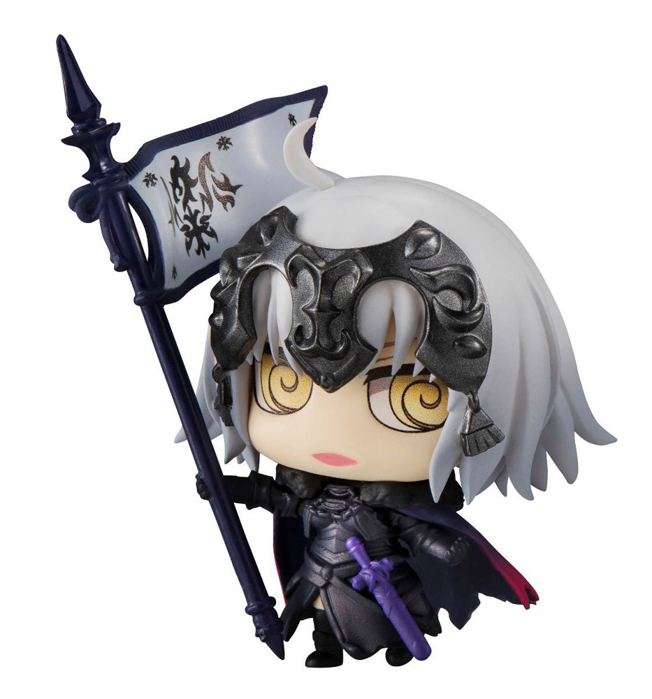 Fate Grand Order 2'' Jeanne d'Arc Alter Avenger Petit Chara Chimi Mega Vol. 3 Trading Figure