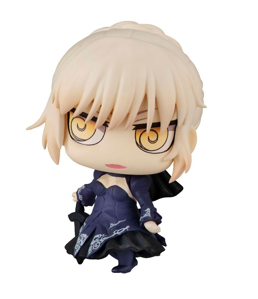 Fate Grand Order 2'' Saber Alter Petit Chara Chimi Mega Vol. 3 Trading Figure