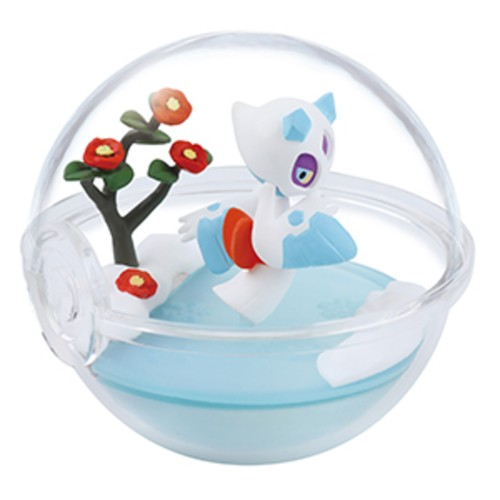 Pokemon 2'' Froslass Four Seasons Terrarium Collection Trading Figure