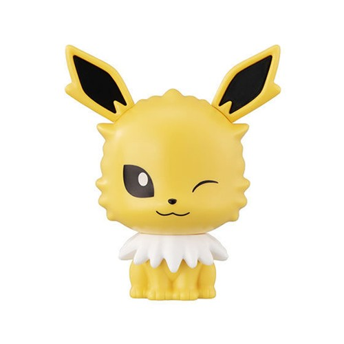 Pokemon 3'' Jolteon Cap Chara Gashapon Trading Figure