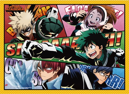 My Hero Academia Panels Group Wall Scroll Poster (U.S. Customers Only)