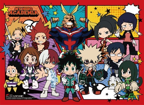 My Hero Academia Chibi Group Wall Scroll Poster (U.S. Customers Only)