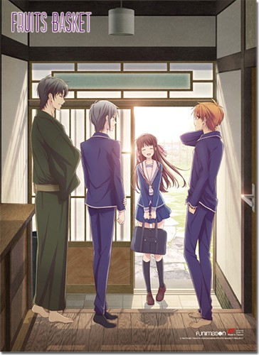 Fruits Basket Key Art Welcome Back Wall Scroll Poster