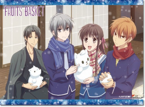 Fruits Basket Snowy Day Wall Scroll Poster (U.S. Customers Only)