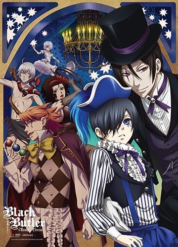 Black Butler Book of Circus Group Wall Scroll Poster