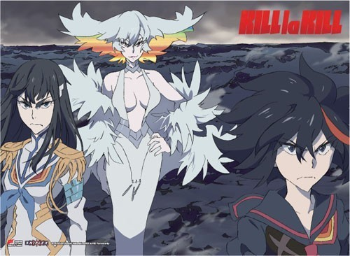 Kill La Kill Mother and Daughters Wall Scroll Poster (U.S. Customers Only)