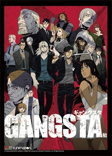 Gangsta Group Wall Scroll Poster