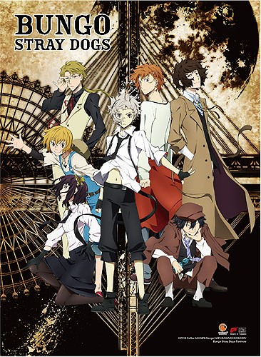 Bungo Stray Dogs Group Wall Scroll Poster