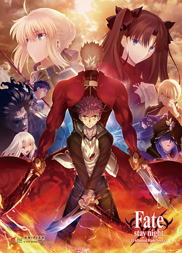 Fate Stay Night Group Wall Scroll Poster