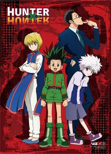 Hunter X Hunter Group Wall Scroll Poster