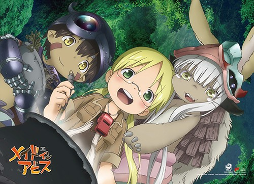 Made in Abyss Group Wall Scroll Poster (U.S. Customers Only)