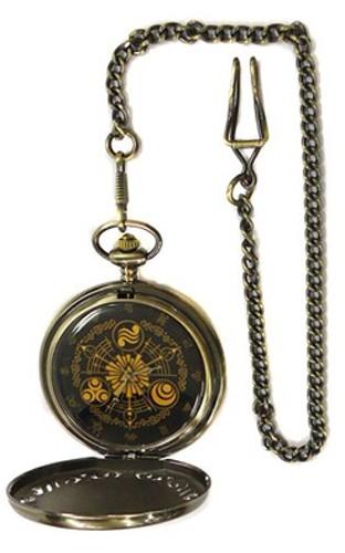 Zelda Symbols Black Prize Pocket Watch