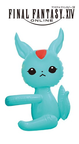 Final Fantasy 14'' Carbuncle Blue Ver.  Blow Up Doll